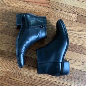Coach Montana Black Leather Boots